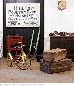 Vintage & Industrial Store (Repop) - Design Files