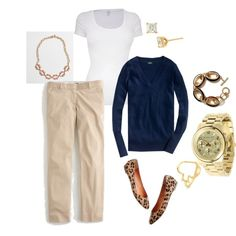ootd 3.11.13 by cdsommer on Polyvore featuring Splendid, J.Crew, Madewell, Michael Kors, Banana Republic, Nordstrom and Kate Spade