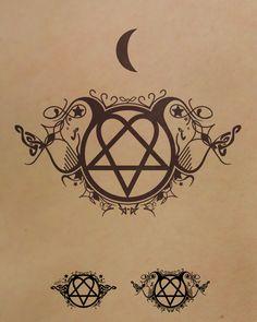 Tattoo Design - Heartagram by Fatalysm
