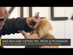 How to add volume in the crown without any visible layering - YouTube