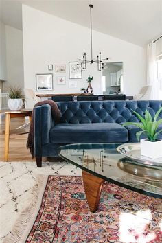 We've rounded up nine of the best living rooms we've seen on Pinterest.