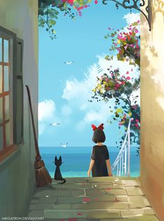 Jiji included. just feeling to add more Ghibli franchise into my gallery 'v' prints available at MY SHOP also support me on INSTAGRAM