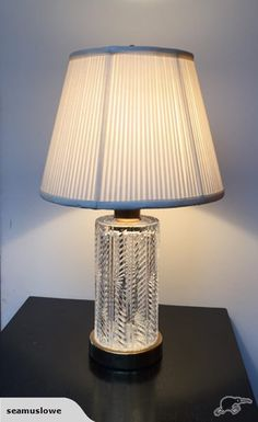 Waterford crystal ashling accent lamp by waterford 32500 accent vintage waterford crystal table lamp trade me aloadofball Image collections