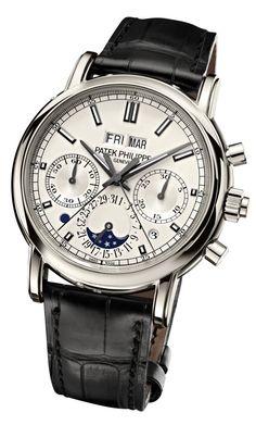 Patek Philippe Split-Seconds Chronograph and Perpetual Calendar