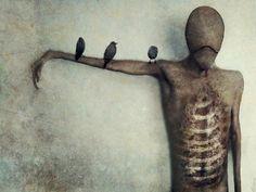 Some creepy cool Surreal Horror Art!