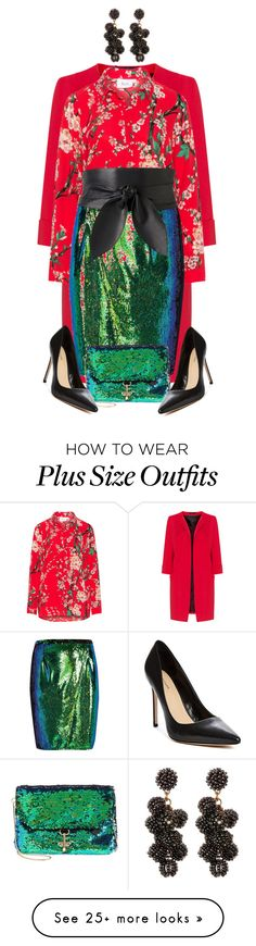 """Plus Size"" by steffilovesyou88 on Polyvore featuring Zizzi, River Island, Witchery, Deux Lux, GUESS by Marciano and Stella + Ruby"