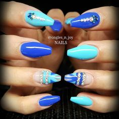 #nail #nails #nailswag #naildesign #bling #nailartist #sparkels #bignails #nailaddict #usa #australia #miamibeach #miami #newyork #florida #world #picoftheday #instapic #instagood #instalike #instagram #scra2ch #nailporn #nailprodigy #love #sweet #lovenails #aztec  Inspo nailsup by ongles_n_joy