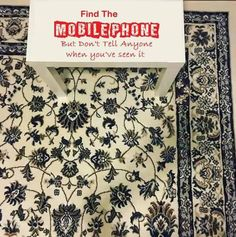People can't find the mobile phone on this rug and it's really stressing them out - Mirror Online