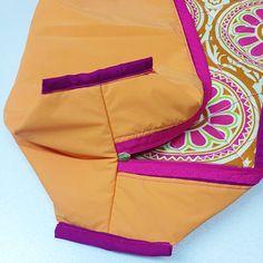Costure e finalize o acabamento New Bag, Diaper Bag, Lunch Box, Pouch, Lily, Sewing, How To Make, Bandanas, Ideas Para