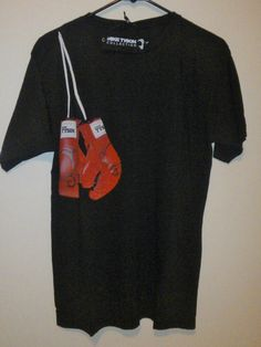 Boxing Gloves Mike Tyson Collection Premium T-Shirt Black Small #miketyson #freeshipping #christmasgifts #boxing
