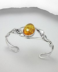 ~ Sterling silver & baltic amber jewellery ~