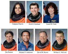 The Columbia mission crew were honored posthumously with the highest award given within NASA, the Congressional Space Medal of Honour Ilan Ramon, Space Shuttle Disasters, Space And Astronomy, Nasa Space, Nasa Lies, Space Shuttle Challenger, Classroom Pictures, Natural Man, Space Program