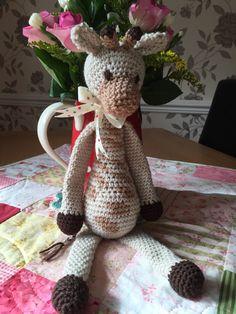 Crochet Giraffe - Edwards Menagerie