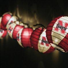#UltimateTailgate #Fanatics Nebraska Cornhuskers Team Lanterns & Lights Set