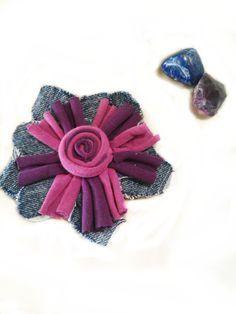 manualidades flores de trapillo - Recherche Google