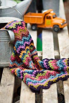 Vintage Crocheted Blanket Pattern