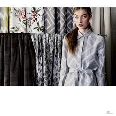 Seneca Textiles / TKSTORE event.  Auckland, New Zealand. Model Zara from Clyne Model management