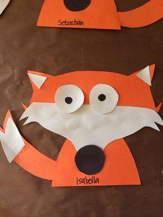 Fox Preschool Art The Mitten Forest Animal Crafts Animal