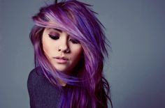 an excellent use of fading purple - variated color looks much more pleasingly 'realistic'