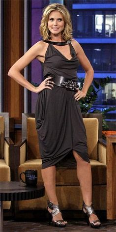 Who made Heidi Klum's dress that she wore on the Tonight Show with Jay Leno? Dress – Michael Kors