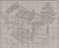 Kira scheme crochet: Rural idyll