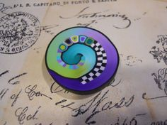 Polymer Clay Beads by TLS Clay Design by TLSClayDesign on Etsy, $3.99