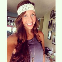Stunning Lace Headband #ShopMCE