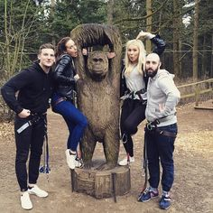 Birthday celebrations at Go Ape Thetford. #CelebrateAdventure