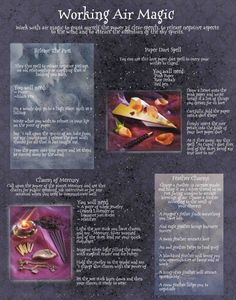 working air magic - Pinned by The Mystic's Emporium on Etsy Magick Spells, Wicca Witchcraft, Altar, Tarot, Air Magic, Eclectic Witch, White Magic, Practical Magic, Book Of Shadows