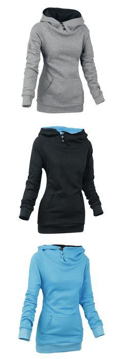 Love these! Hoodies  gray & black & blue
