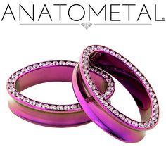 - Ellipse Eyelets - ANATOMETAL - Professional Grade Body Piercing Jewelry