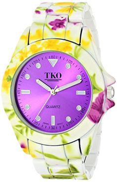 TKO ORLOGI Women's TK642PR Floral Analog Display Quartz Multi-Color Watch TKO http://www.amazon.com/dp/B00LMXT8VG/ref=cm_sw_r_pi_dp_UJoBub1ZSQPKS
