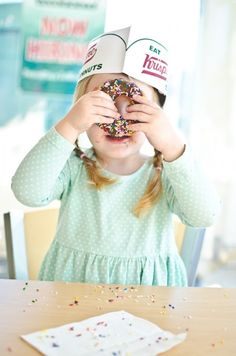 Vintage Donut Shop Themed Birthday Party via KARA'S PARTY IDEAS KarasPartyIdeas.com Cake, decor, stationery, giveaways and more! #vintage #vintagedonutshop #donutparty #doughnutparty #karaspartyideas #milkanddonuts #cookiesandmilk #doughnutsandmilk (15)