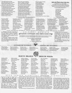 ANTONIO CABRAL FILHO HAICAI BLOG : SELEÇÕES EM FOLHA Nº 06 JUNHO 2014 # MANOEL FERNAN...