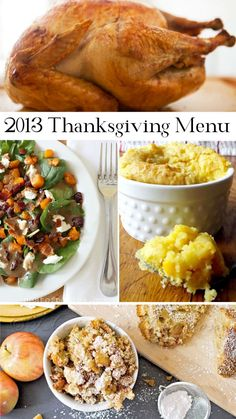 2013 Thanksgiving Menu Meal Plan | Atkinson Drive