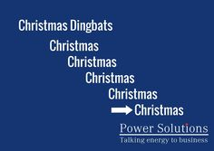 Power Solutions UK - Christmas Dingbat no 14