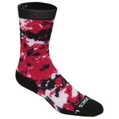 The ASICS Tm Camo Crew Socks is a great fit to your camo arsenal. Sock Features: - Left/Right Specific - Fully cushioned sole for shock absorption in high impact areas - Reinforced at heel and toe for Volleyball Team, Sport Socks, Crew Socks, Asics, Camo, Arsenal, Heels, Fitness, How To Wear