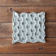 Staccato Dishcloth by Jenny Konopinski