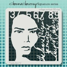 Donna Downey Stencils-Signature Stencils Fun images to add to your crafting projects Get creative This package contains one 8-1 2x8- 1 2 inch stencil