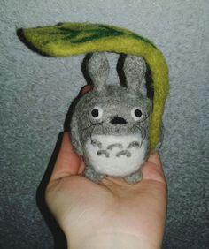 Totoro❤  #hayaomiyazaki #miyazaki #ghibli #handmade #totoro