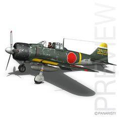 Mitsubishi A6M2 Zero - Konoike Kokutai