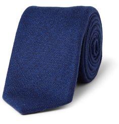 Drake'sSlim Woven-Cashmere Tie MR PORTER