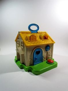 Fisher Price - another great toy i grew up with! Knowing my mother she has kept these! At least i hope!