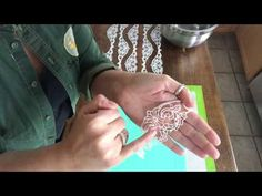 (5) Super Easy Cake Lace - Flex Frost - YouTube
