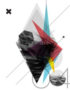ART RIOTS // LET IT RIOT OUT by Rosco Flevo, via Behance