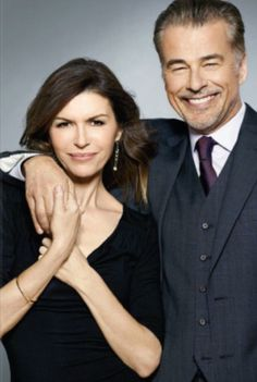 Ian Buchanan and Finola Hughes Duke Lavery and Anna Devane Duke and Anna couple General Hospital Soap Opera Stars, Soap Stars, Ian Buchanan, Guinness World, Movie Couples, Bold And The Beautiful, General Hospital, Wedding Humor, Reality Tv