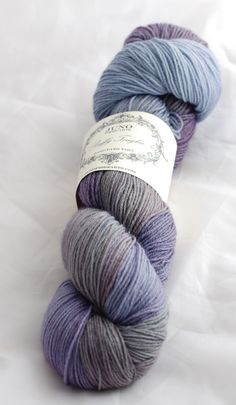 Buffy Toughie Sock Yarn  Superwash BFL/Nylon  by JunoFibreArts, £12.50