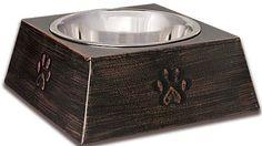 Loving Pets Vintage Black Pet Dish US/Can 3/11