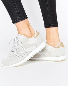 Reebok Classic Leather Seaworn Sneakers In Gray