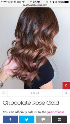 "27 Rose Gold Hair Color Ideas That Make You Say ""Wow!"" 27 Rose Gold Hair Color Ideas That Make You Say ""Wow!"", Rose Gold Hair Color Gold Pink Hair Colors Fashion for certain colors and shades can walk in a… Continue Reading → Gold Hair Colors, Hair Color Pink, Cool Hair Color, Brown Hair Colors, Aveda Hair Color, Hair Colours, Pink Hair, Eye Color, 2018 Hair Color Trends"